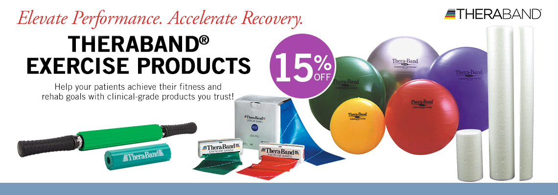 15% Off Theraband Exercise Products