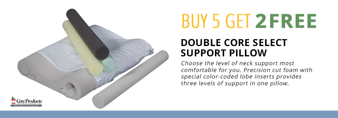 Buy 5 Get 2 Free Double Core Select Support Pillow