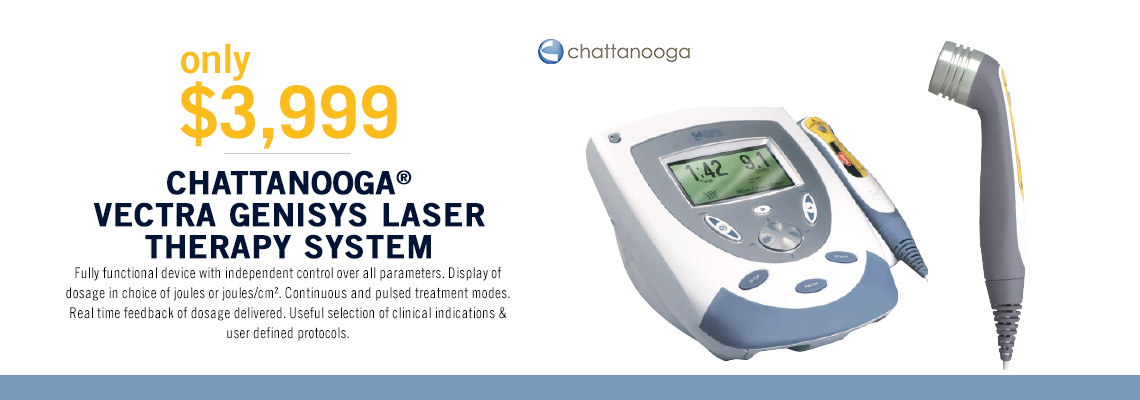 Chattanooga Vectra Genisys Laser Therapy System