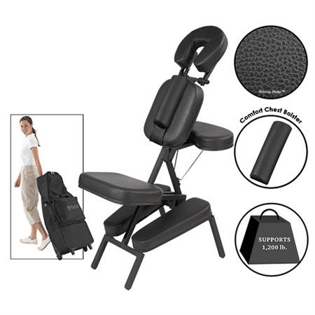 master massage equipment the husky apollo xxl portable massage chair package black