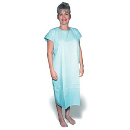 Cloth Full Open Exam Gowns - Patient Gowns, Hospital Gowns