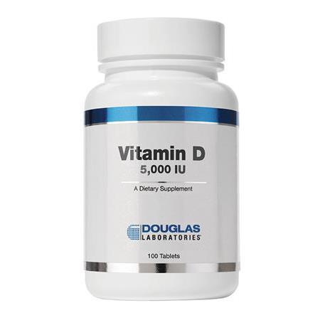 Buy Douglas Labs® Vitamin D (5000 I.U.) - 100 Tablets