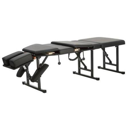 Basic Pro Portable Chiropractic Table With Thoracic And Pelvic Drops Adjustable Headpiece