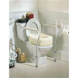Invacare Raised Toilet Seat Risers For Elderly Amp Disabled