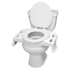 Ableware Elevated Toilet Transfer Seat - 3'H