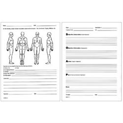 SOAP Notes Patient & Client Visit Forms - Pack of 100