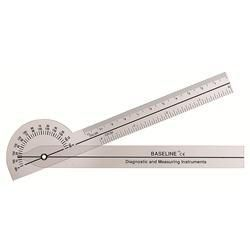 180 Degree Clear Plastic Pocket 6' Goniometer