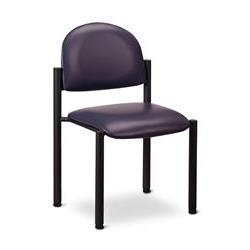 Clinton Premimum Side Chair Wthout Arms-Blk Frame