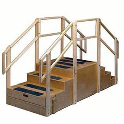 Training Stairs With Bus Step Physical Therapy Staircase