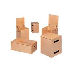 Bailey Manufacturing Lift Boxes – Natural Finish
