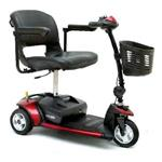Go-Go Elite Traveller 3 Wheel Mobility Scooter