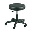 "Winco Gas Lift Stool 18""-23""H - Black"