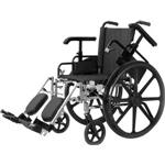 "Economy Lightweight Wheelchair-18""W/Elev Legrests"