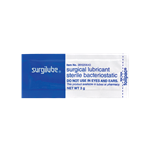 Surgilube Lubricating Jelly-Sterile 3G 144/Case