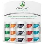 CBD Clinic™ Clinical Strength Topical Analgesics - Fully Loaded Office Display