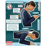 "BodyPartChart™ Text Postural Dysfunction (TPD) 39"" x 51"""