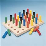 Sammons Peg Board With Round Pegs