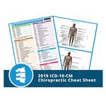 2019 Chiropractic Icd-10-Cm Cheat Sheet