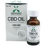 Green Roads Wellness CBD Sublingual Oil 1250mg