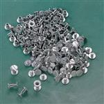 "Aluminum Screw Rivets, 1/4"" X 1/4"""