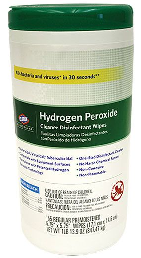 Clorox hydrogen peroxide disinfectant cleaner sprays wipes - Unknown uses hydrogen peroxide ...