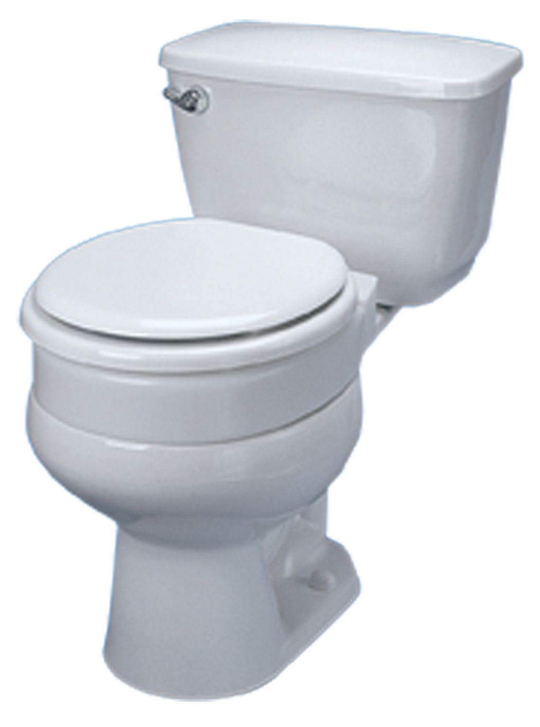 Hinged Elevated Toilet Seat 3 Quot For Standard Bowls