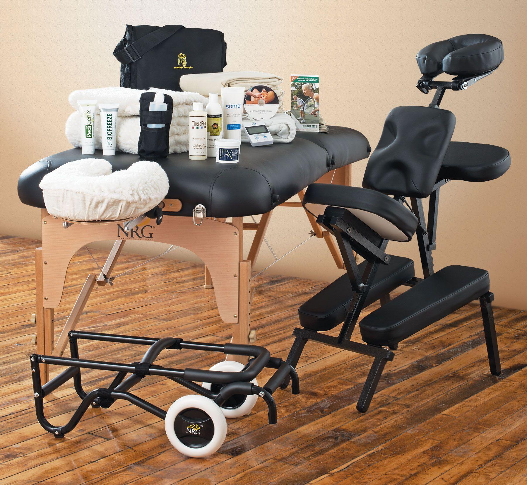 Nrg Karma Massage Table Chair Cart Massage Business Kit