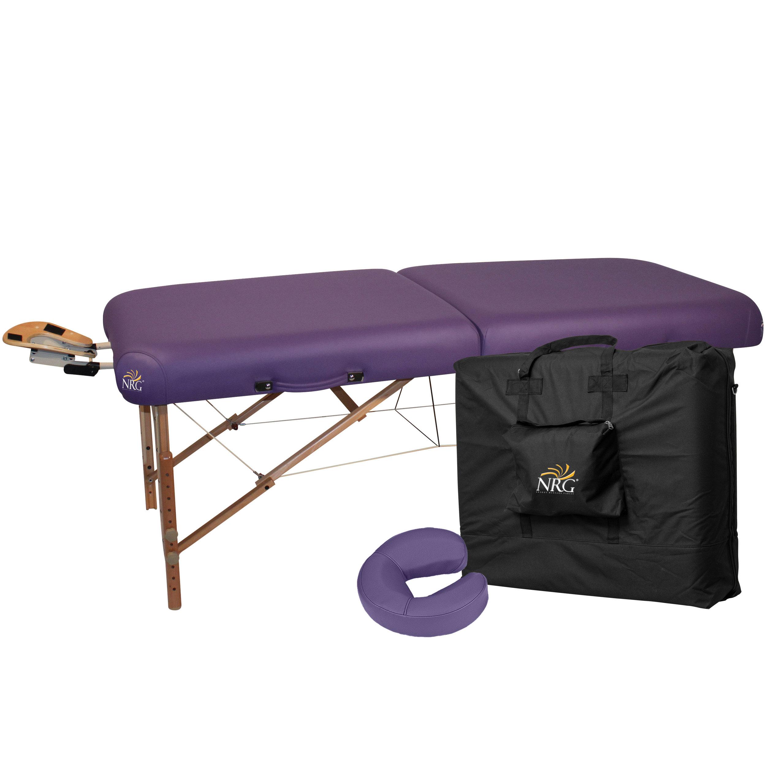 Nrg massage table nrg deluxe portable massage table walmart com nrg vedalux massage table - Portable massage table walmart ...