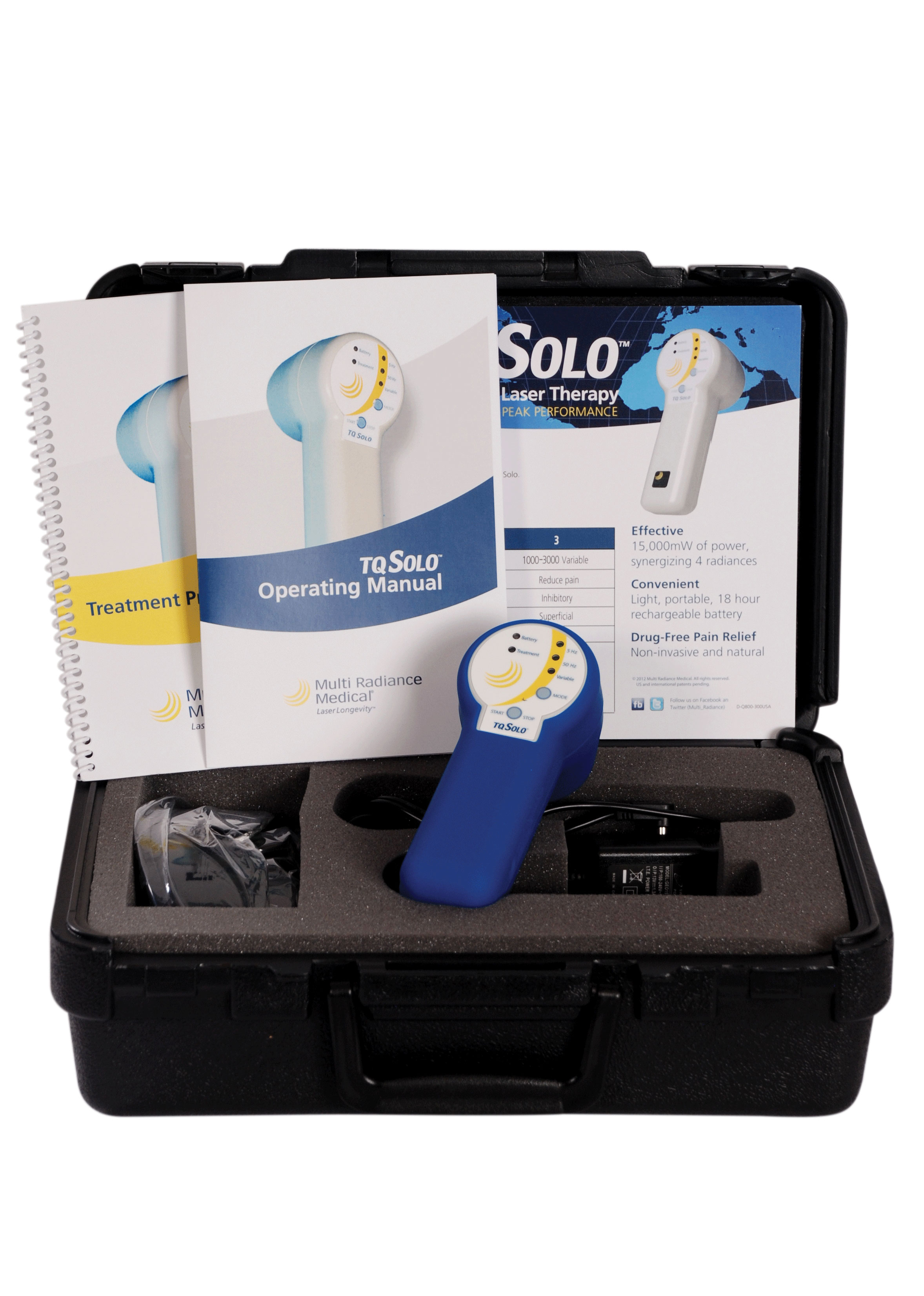 Tq Solo Portable Laser Amp Carry Case Cold Laser System