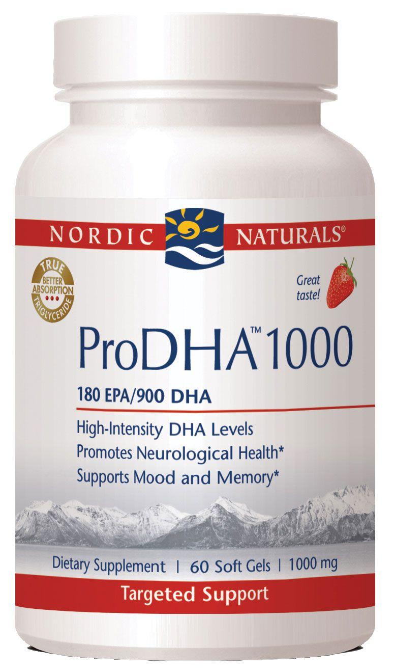 Buy Nordic Naturals ProDHA™ 1000 60 Count