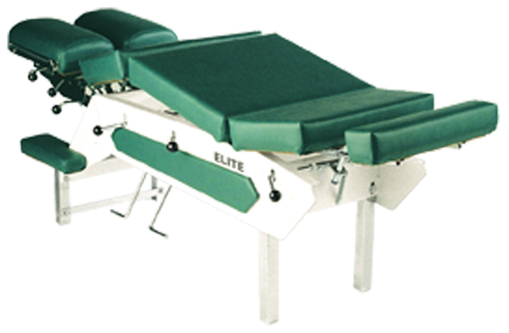 Elite Stationary Chiropractic Drop Table With 2 Drops For Sale