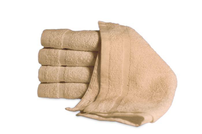 Economy Hand Towel Beige - Dozen 16
