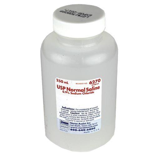 USP Sterile Saline for Irrigation – Screw Top 250mL