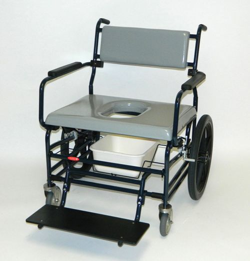 Bariatric Shower/Commode, Model 720 Optional Accessories