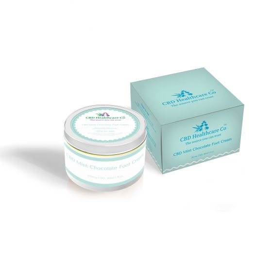 CBD Healthcare Company™ CBD Chocolate Mint Foot Cream