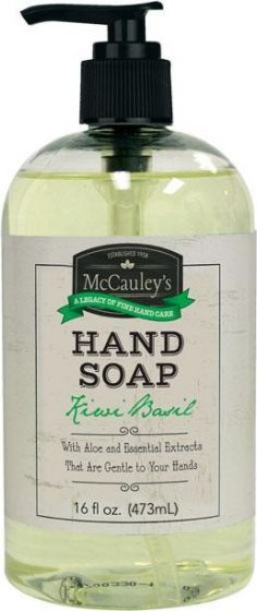 McCauley's Hand Soap Kiwi Basil 16 oz.