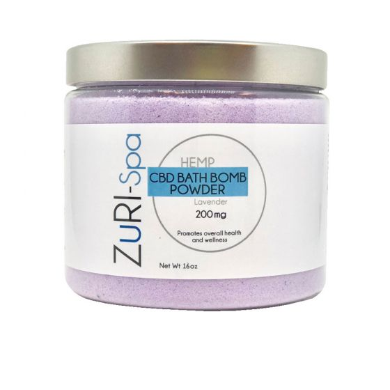 ZuRI™ Spa CBD Bath Bomb Powder