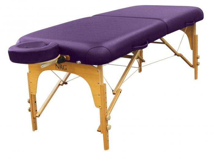 NRG® Karma Portable Massage Table Package with a NRG® Full Round Bolster FREE!