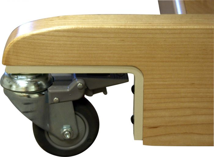 Oakworks® Stationary Table Upgrade - PerformaLift Casters