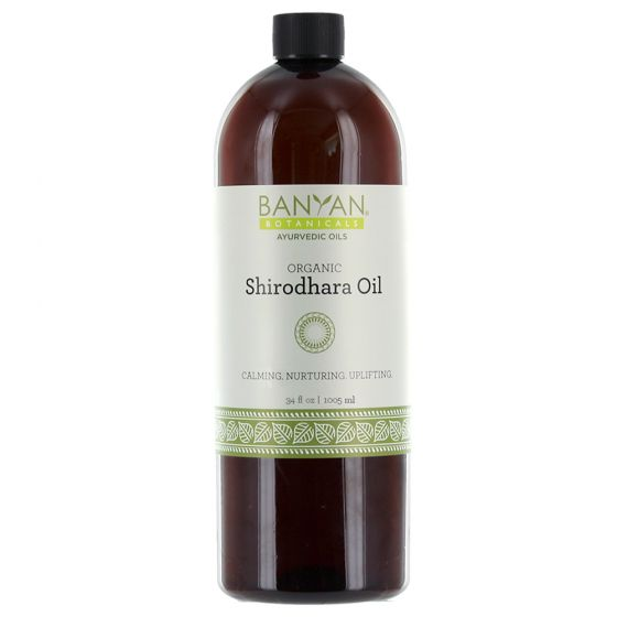 Banyan® Botanicals Shirodhara Massage Oil