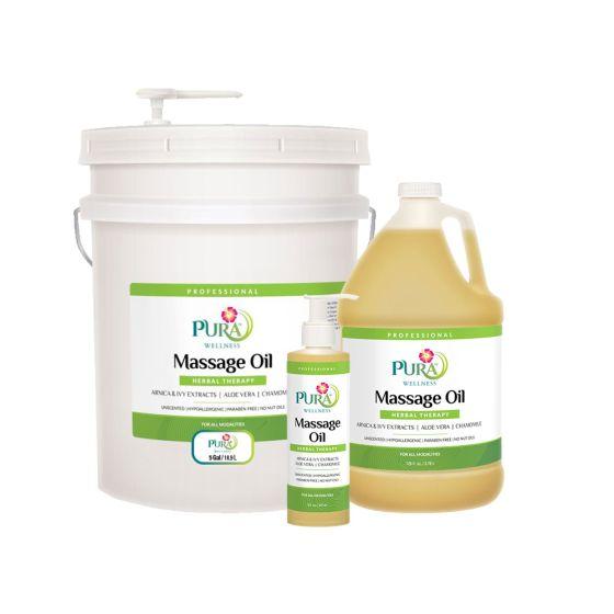 Pura Wellness™ Herbal Therapy Massage Oil
