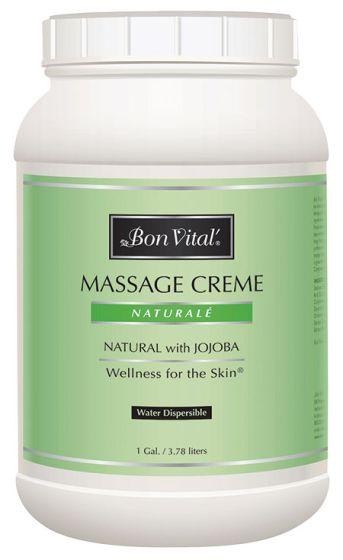 Bon Vital'® Naturalé Massage Crème - Natural Massage Cream w/Jojoba