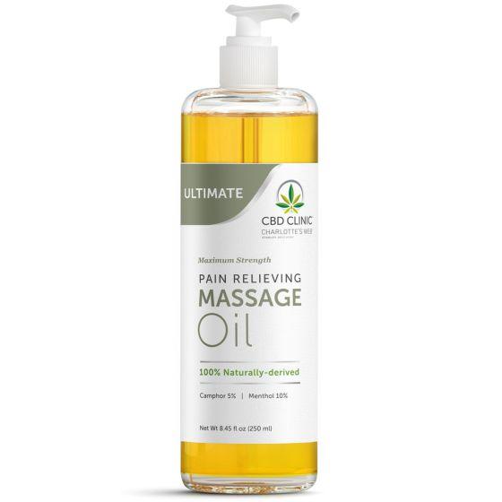 CBD CLINIC™ Analgesic Massage Oils