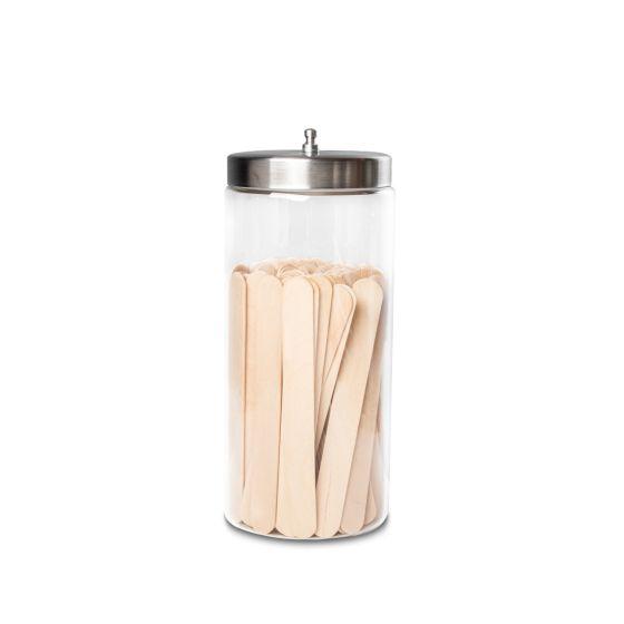Tech-Med® Glass Medical Sundry Jars - Dressing Jars