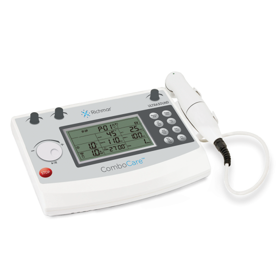 "ComboCareâ""¢ Combo E-Stim & Ultrasound Unit - Two-Channel Electrotherapy Device"