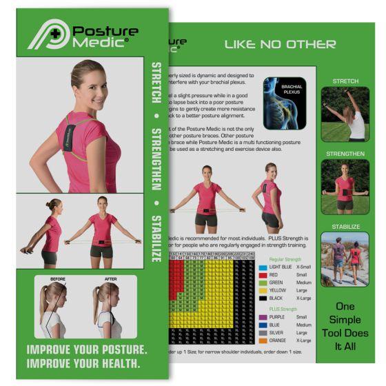 Posture Medic Patient Brochures – 50 Pack