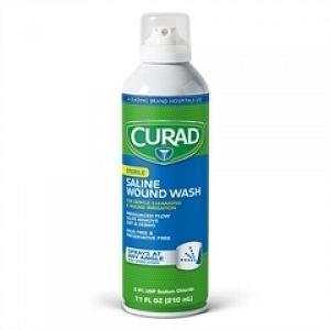CURAD® Saline Wound Flush Spray
