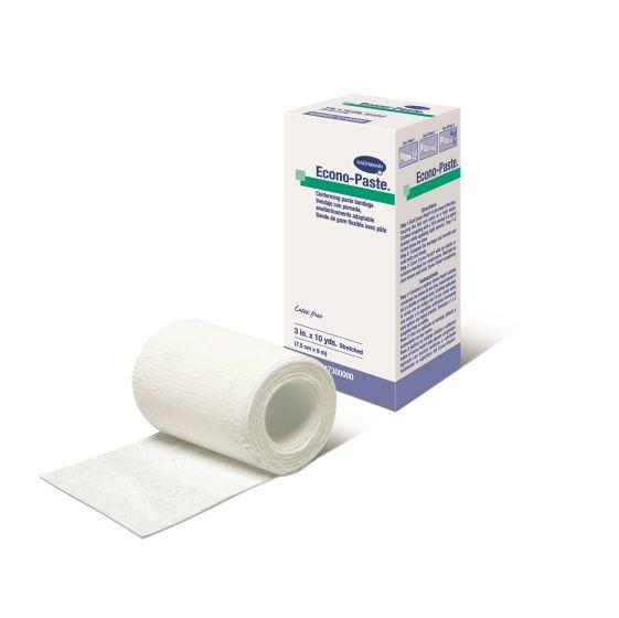 """Econo-Paste® Conforming Paste Bandages – 4"""" x 10 yds. (10cm x 9m)"""