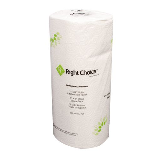 Right Choice™ Kitchen Towel Roll 2-Ply
