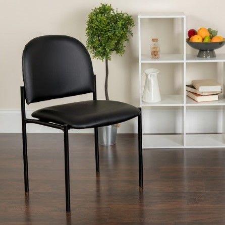 Flash Armless Chair, Black
